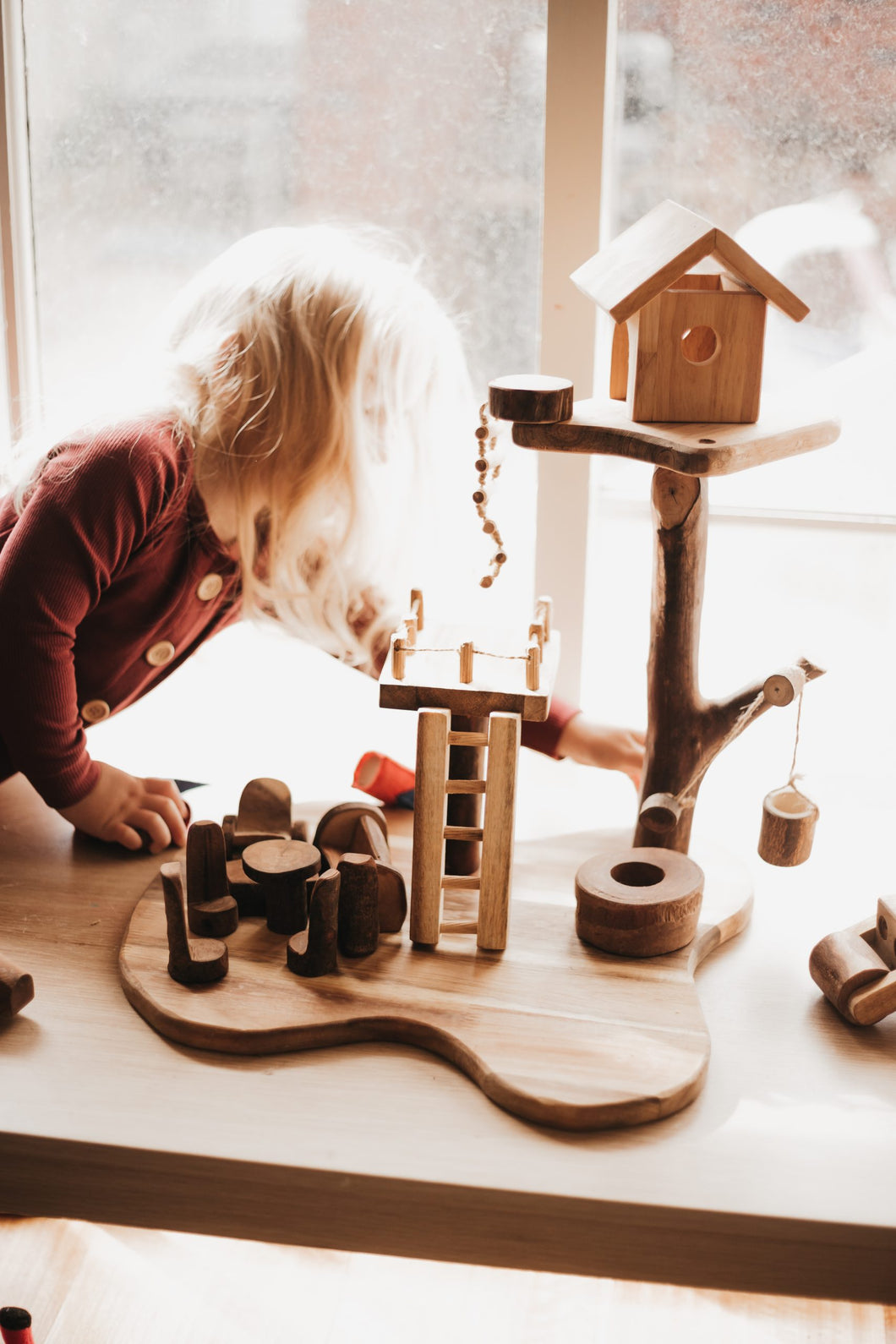 Tree Style House - Behind The Trees Wooden Toys