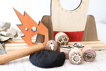 Load image into Gallery viewer, Dough Stampers Space  // Nov Delivery - Behind The Trees Wooden Toys