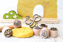 Load image into Gallery viewer, Dough Stampers BEE  // Nov Delivery - Behind The Trees Wooden Toys