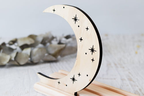 Story Scene - Crescent Moon // Nov Delivery - Behind The Trees Wooden Toys