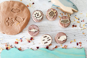 Dough Stampers Ocean  // Nov Delivery - Behind The Trees Wooden Toys
