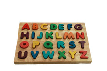 Load image into Gallery viewer, Capital Letter Puzzle - Behind The Trees Wooden Toys
