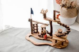 Tree House Complex - Behind The Trees Wooden Toys