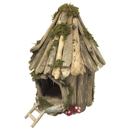 Woodland Fairy House Small Round - Behind The Trees Wooden Toys