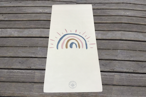 Rainbow Yoga Mat - Behind The Trees Wooden Toys