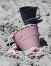 Load image into Gallery viewer, Scrunch Beach Moulds // Dusty Rose - PRE ORDER - Behind The Trees Wooden Toys