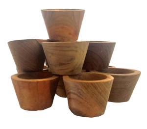 Mini Wooden Bowls - Behind The Trees Wooden Toys