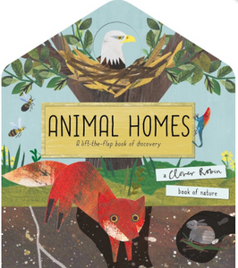Animal Homes - Behind The Trees Wooden Toys
