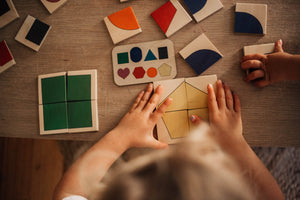 Shape Puzzle // November Delivery - Behind The Trees Wooden Toys