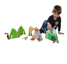 Load image into Gallery viewer, Happy Architect Dinosaur Set - Behind The Trees Wooden Toys
