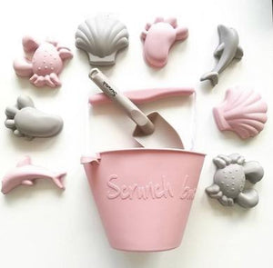 Scrunch Spade // Dusty Rose - PRE ORDER - Behind The Trees Wooden Toys