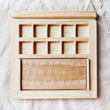 Load image into Gallery viewer, The Play & Learn Tray - Behind The Trees Wooden Toys