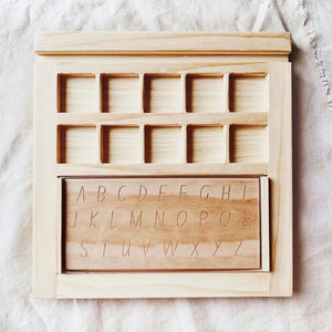 The Play & Learn Tray - Behind The Trees Wooden Toys