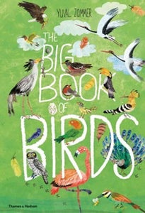 Big Book Of Birds - Behind The Trees Wooden Toys