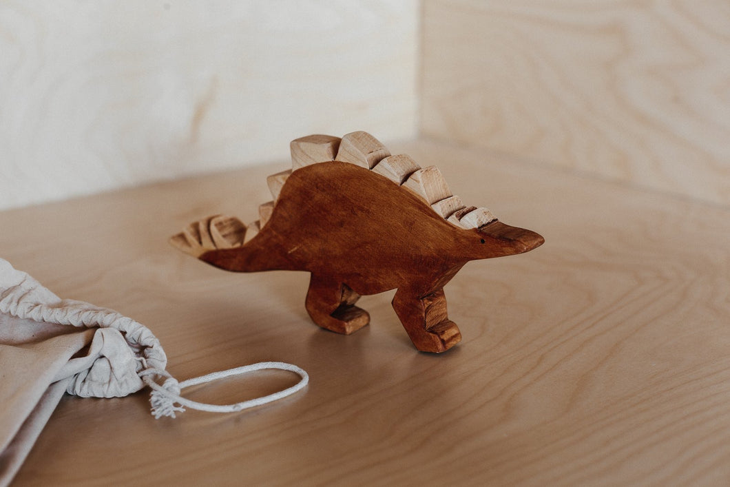 Stegosaurus - Behind The Trees Wooden Toys