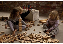 Load image into Gallery viewer, Wooden Story // Natural Blocks in Tray 30pc PREORDER - Behind The Trees Wooden Toys