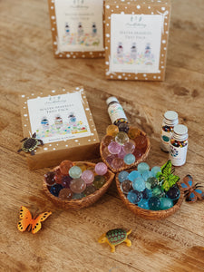 Water Marbles - Trio pack - Behind The Trees Wooden Toys