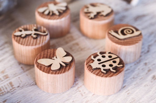 Dough Stampers INSECTS  // Nov Delivery - Behind The Trees Wooden Toys