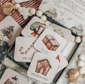 Christmas Memory Game // Nov Delivery - Behind The Trees Wooden Toys