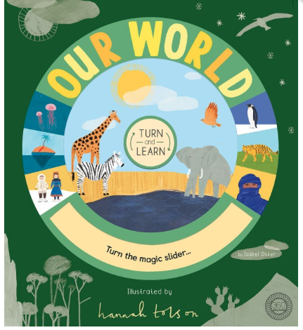 Our World - Turn & Learn - Behind The Trees Wooden Toys