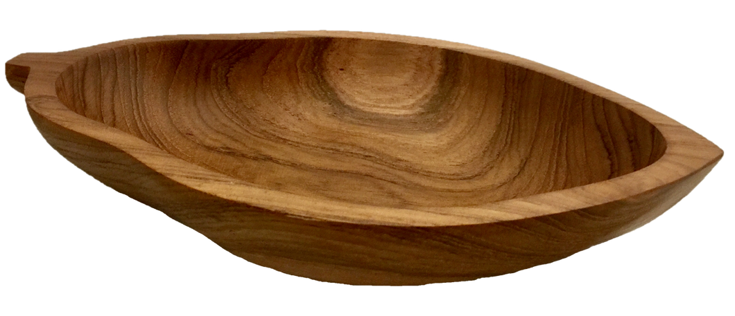 Papoose Wooden Papaya Bowl - Behind The Trees Wooden Toys
