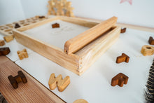 Load image into Gallery viewer, Montessori Sand Tray - Behind The Trees Wooden Toys