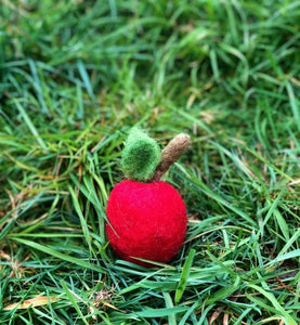 Red Apple - Behind The Trees Wooden Toys