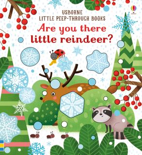 Little Peep-Through: Are You There Little Reindeer - Behind The Trees Wooden Toys