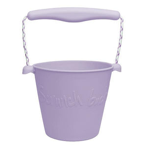 Scrunch bucket //  Dusty Lilac - PRE ORDER - Behind The Trees Wooden Toys