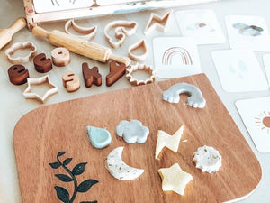 Sky Mini Dough cutter Set - Behind The Trees Wooden Toys