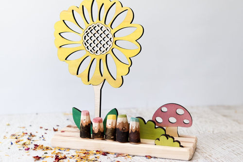 Story Scene - Sunflower // Nov Delivery - Behind The Trees Wooden Toys
