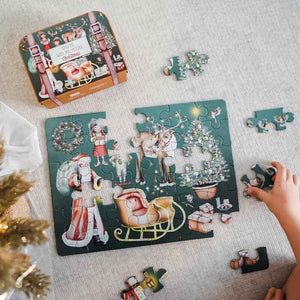 "Christmas "" Take Me With You "" Puzzle - Behind The Trees Wooden Toys"