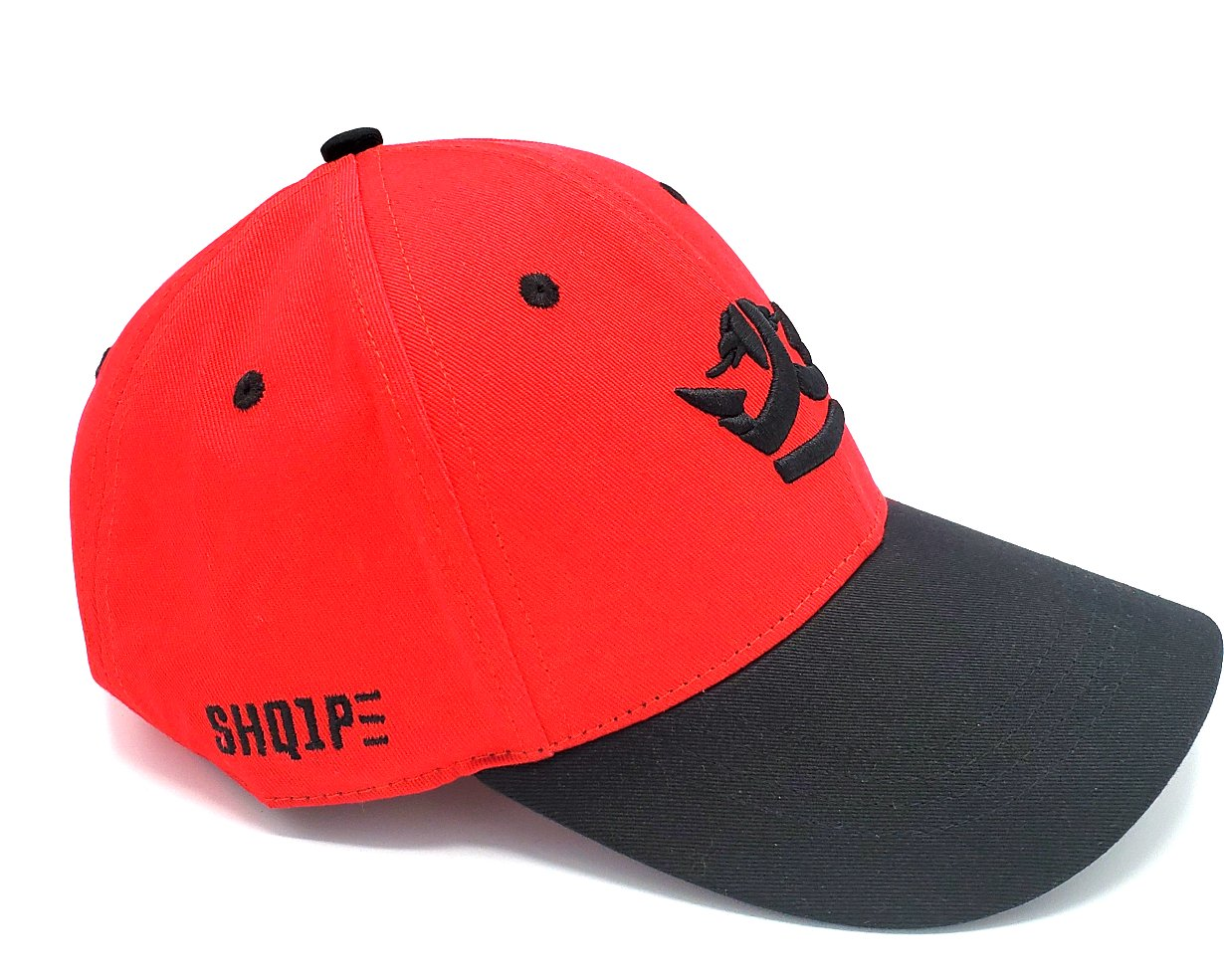 1st Edition Shq1pe Baseball Cap Red/Black Brim