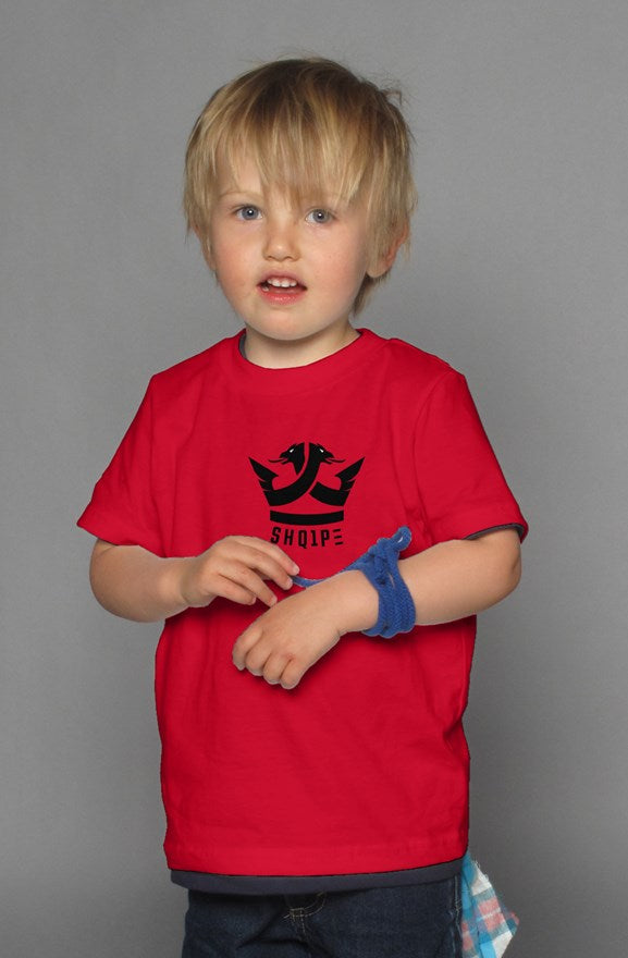 Red Kids t shirt