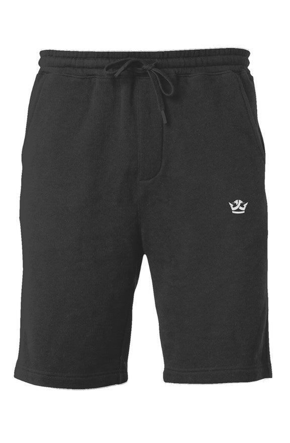 Midweight Fleece Shorts- Black
