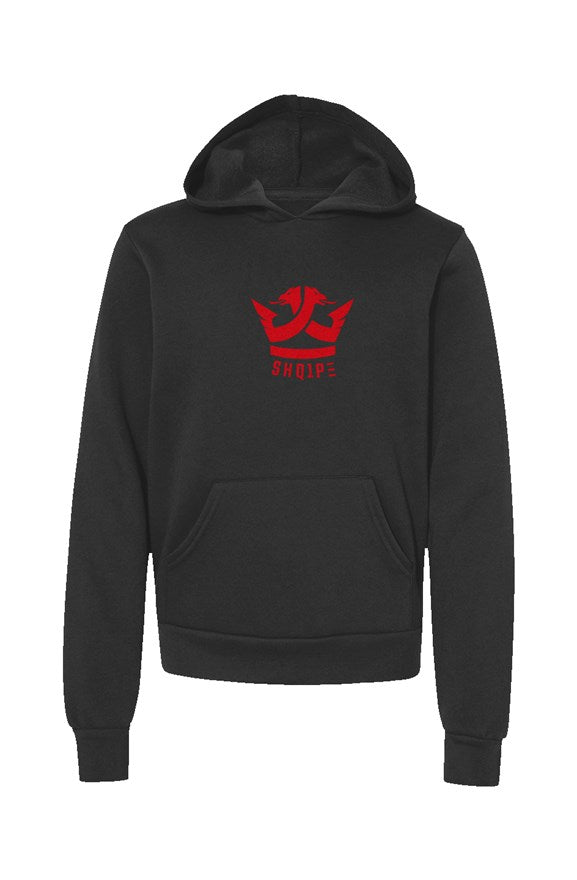 Youth Pullover Hoodie-Black