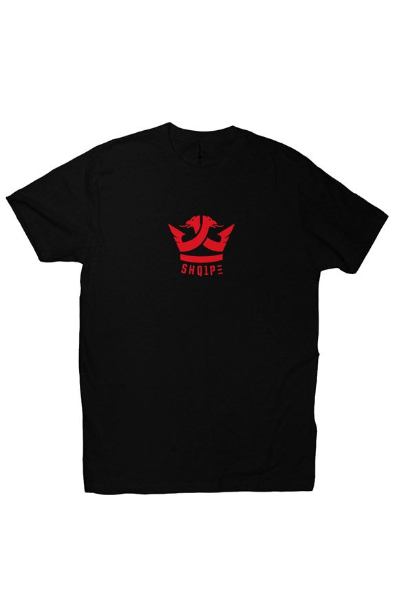 T-Shirt (Black/Red Logo)