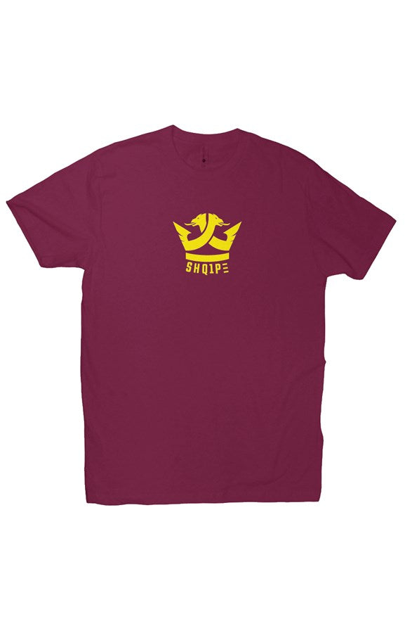 T-Shirt (Maroon/Yellow Logo)