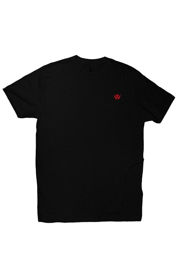 T-Shirt (Black/Red Crown)