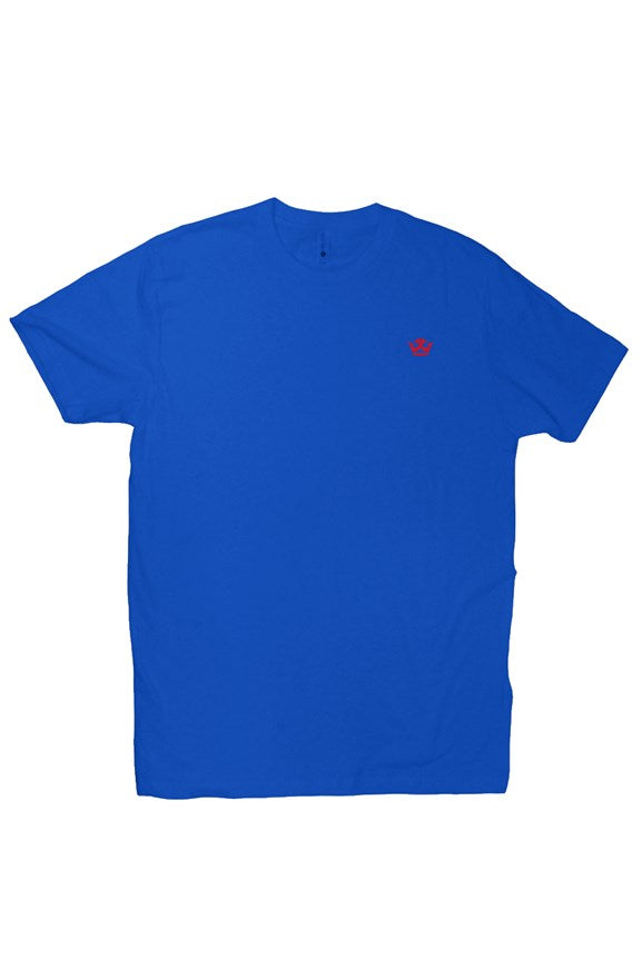 T-Shirt (Blue/Red Crown)