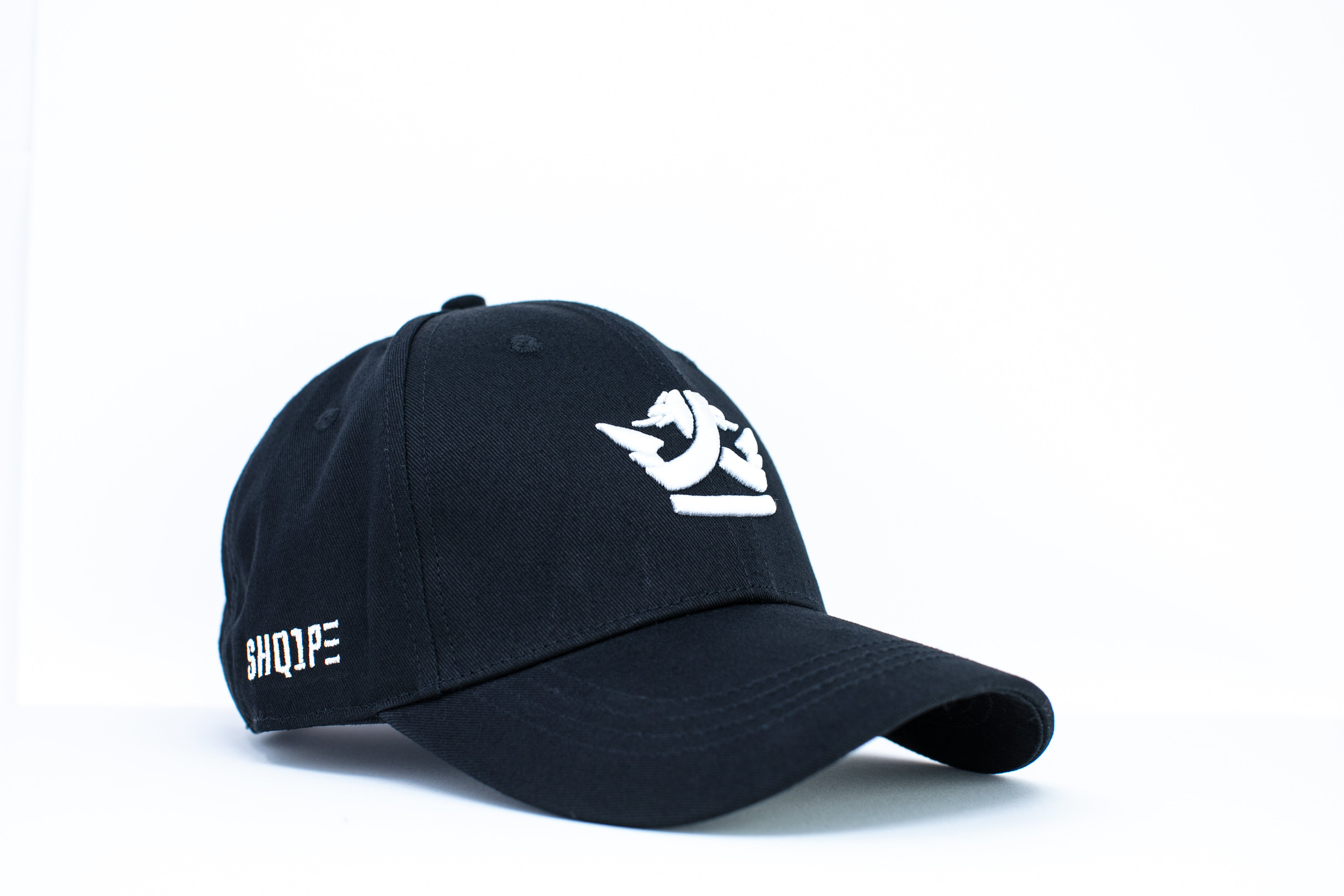 1st Edition Shq1pe Baseball Cap Black/White