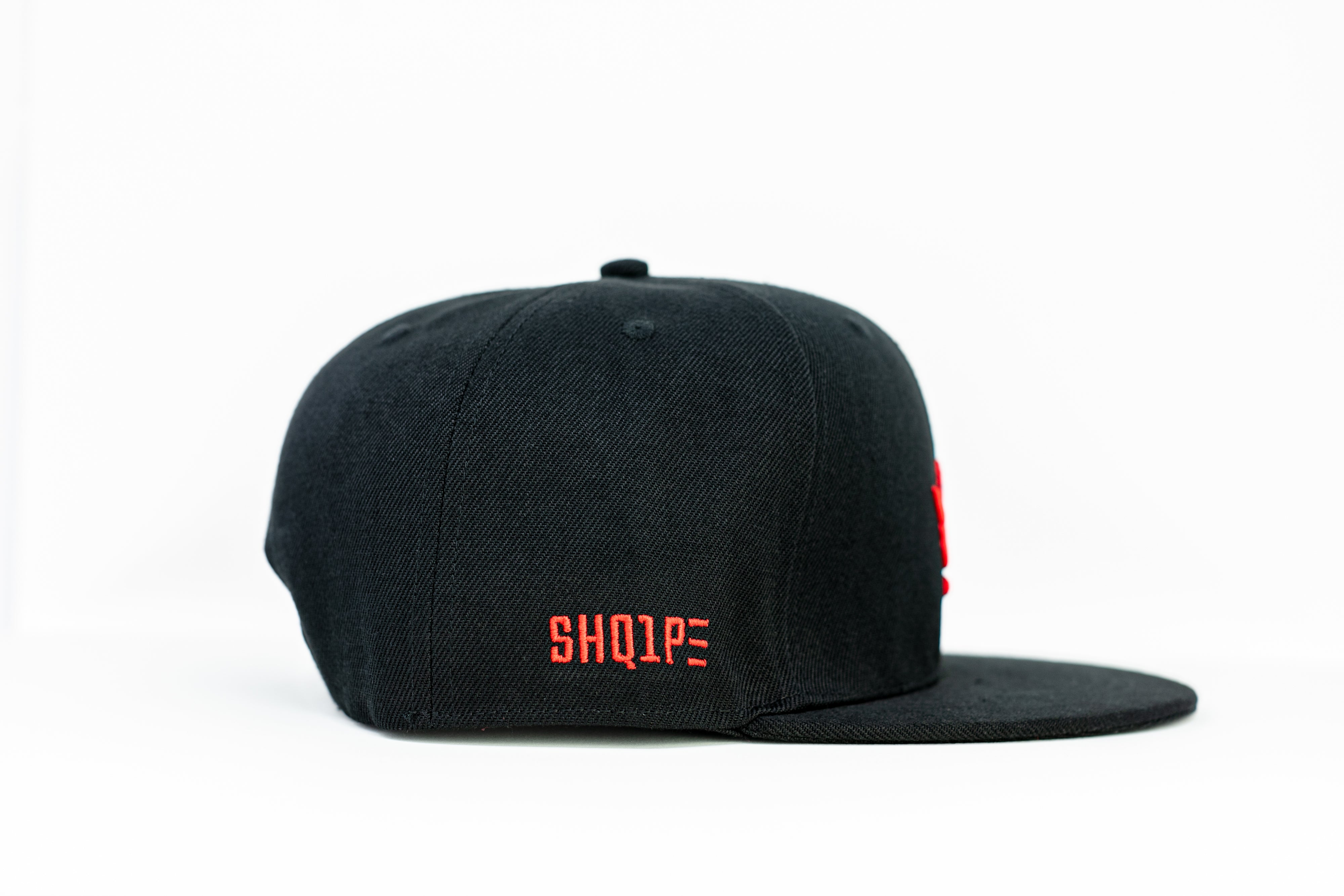 1st Edition Shq1pe Snapback Black/Red