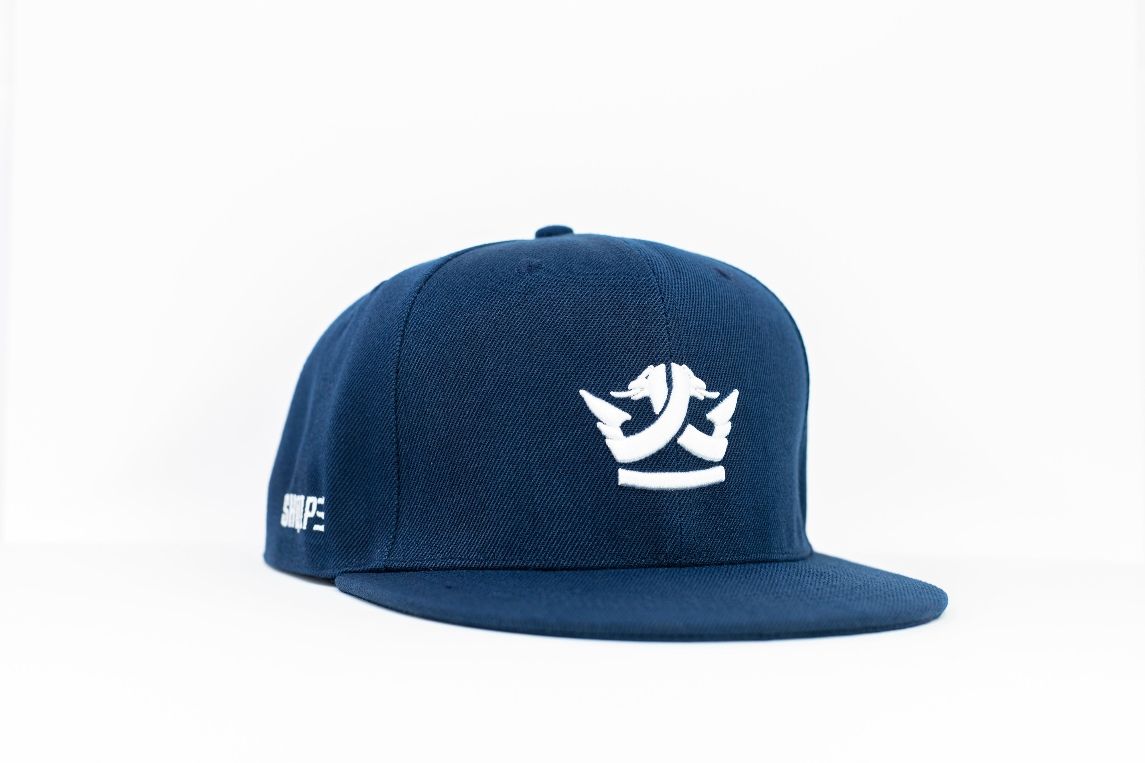 1st Edition Shq1pe Snapback Navy Blue/White