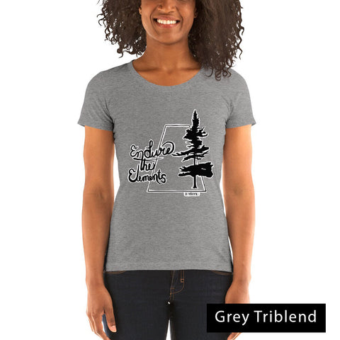 Endure The Elements Womens T - Be You YXE