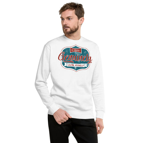 100% Myself Unisex Sweatshirt