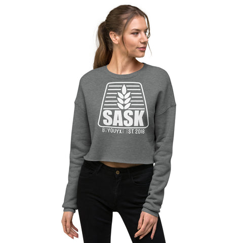 Sask Crop Sweatshirt