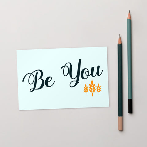 Be You Postcard - 10 Pack