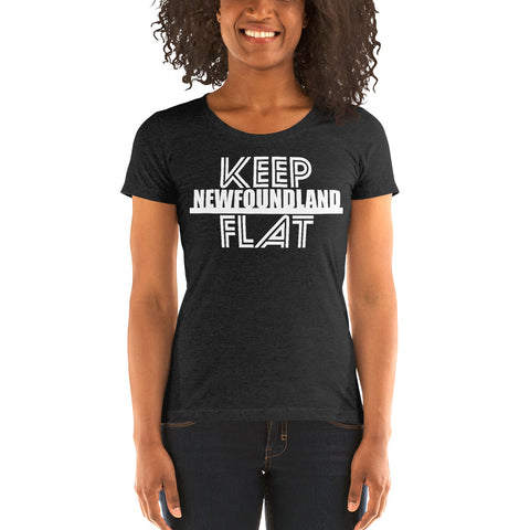 Keep Newfoundland Flat T-Shirt - Be You YXE