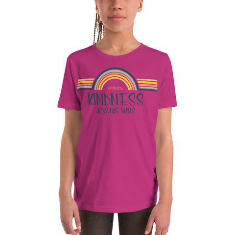 Kindness Always Wins Youth T-Shirt - Be You YXE