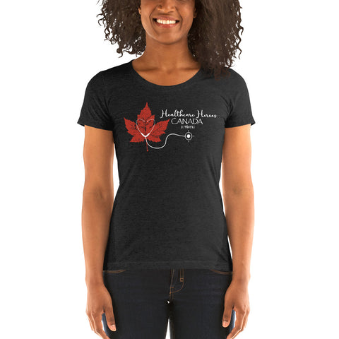 Healthcare Heroes Canada Women's T-Shirt - Be You YXE